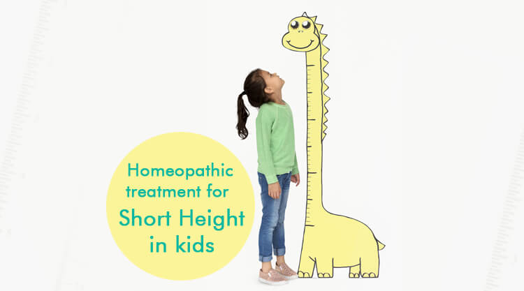 Homeopathic treatment for short height in kids